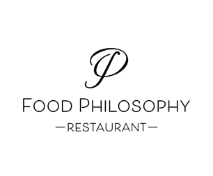 Логотип ресторана в Нью-Йорке. Клиент: ресторан FOOD PHILOSOPHY